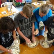 Préparation des pâtes