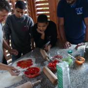 Explication confection des pizzas