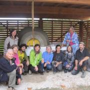 La CArPE et des participants au chantier