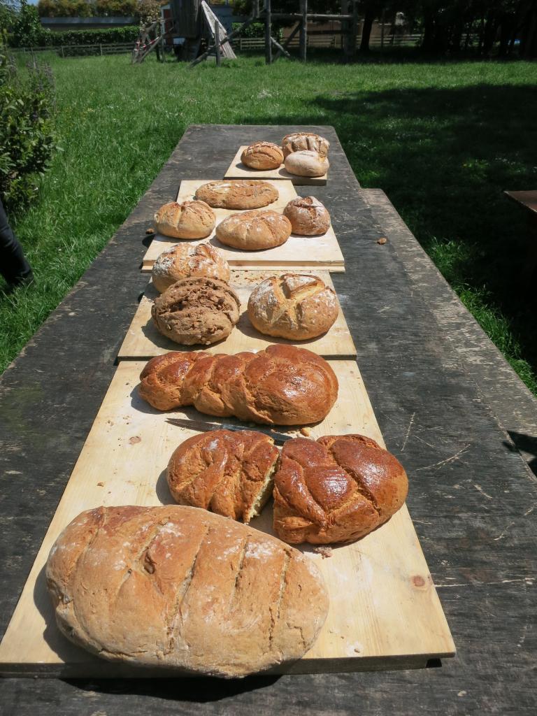 Présentation des pains