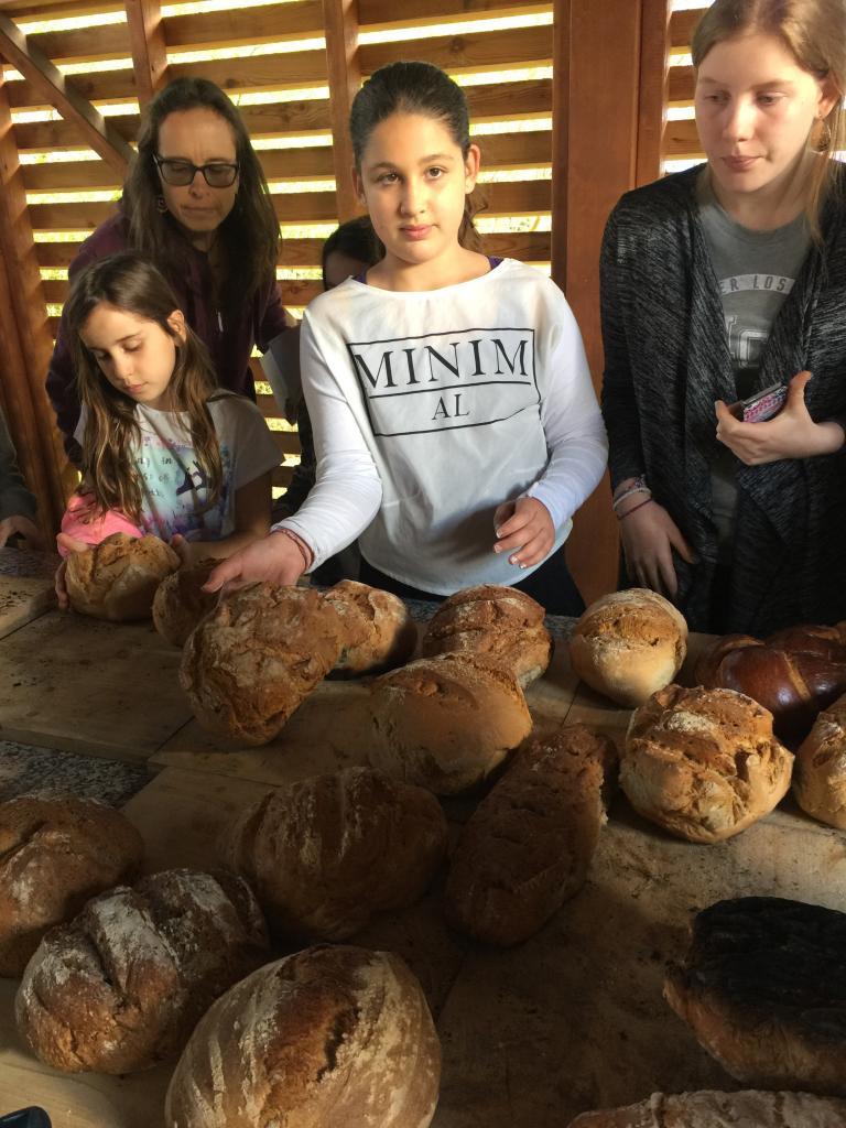 Sortie des pains